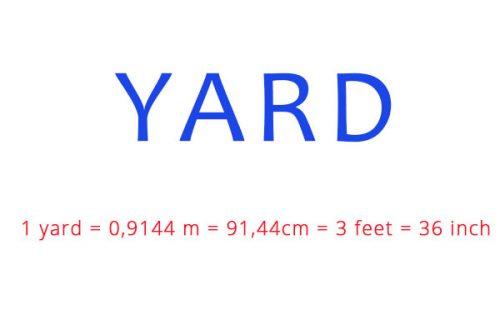 Yard là gì
